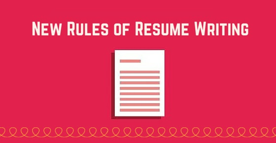20 New Rules of Resume Writing Tips to Build a Great Resume WiseStep