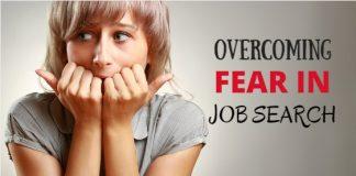 overcoming fear in job search