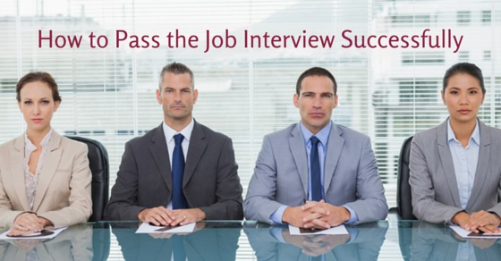pass job interview successfully