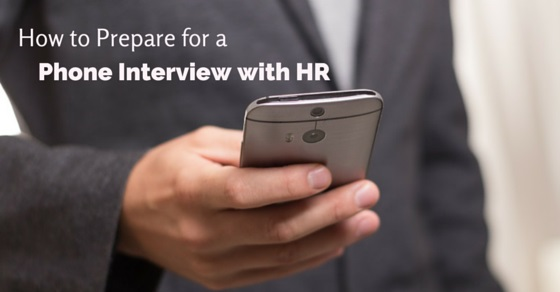 phone interview with hr