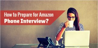 prepare amazon phone interview