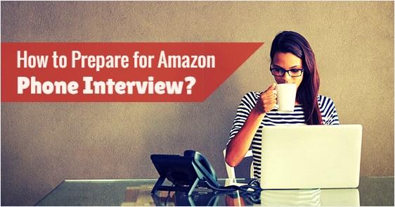 prepare amazon phone interview