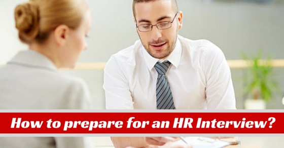 prepare for hr interview