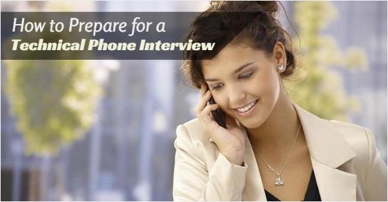 prepare technical phone interview