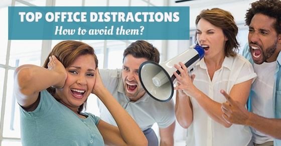 top office distractions avoid
