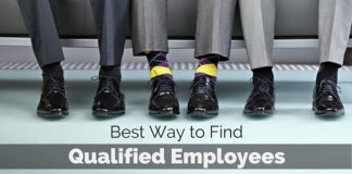way to find qualified employees