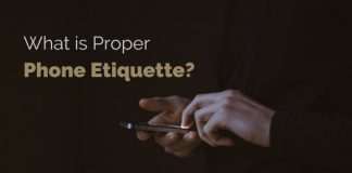 what is proper phone etiquette