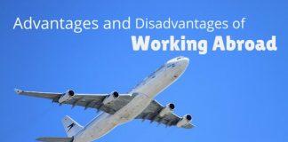 working abroad advantages disadvantages