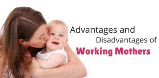 working mothers advantages disadvantages