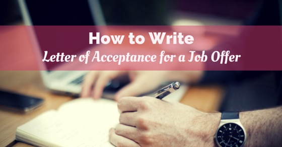 Writing Tips for Termination Acceptance Letters