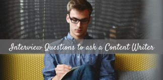 Interview Questions Content Writer