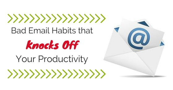 bad email habits avoid