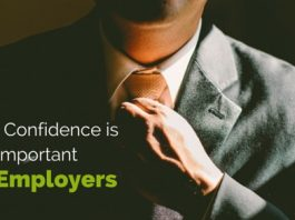 confidence important to employers