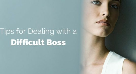 dealing with difficult boss tips