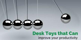 desk toys improve productivity