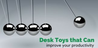 desk toys improve productivity