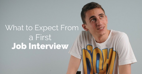 expect from first job interview