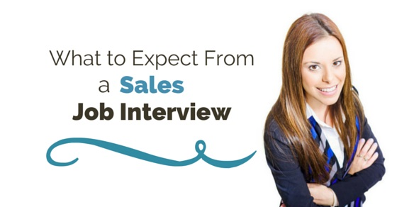 expect from sales job interview