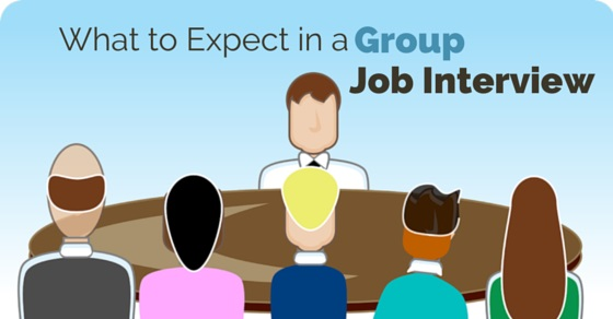 expect in group job interview