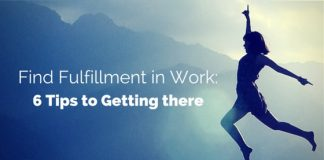 find fulfillment in work
