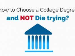 how choose college degree