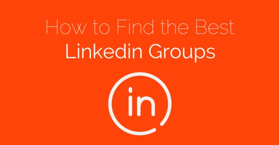 how find best linkedin groups