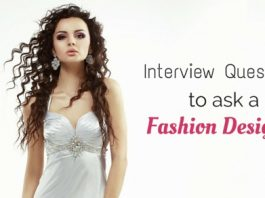 interview questions fashion designer