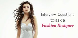 interview questions fashion designer