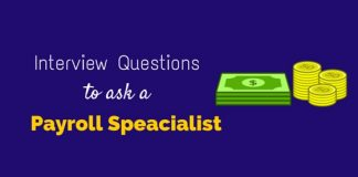 interview questions payroll specialist