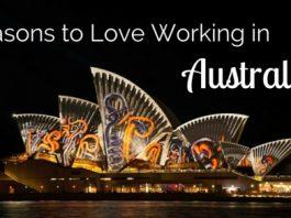 love working in australia reasons