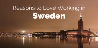 love working in sweden