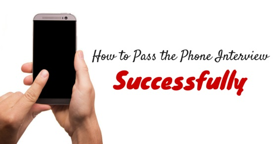 pass phone interview successfully