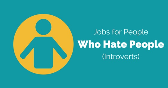 people who hate people jobs