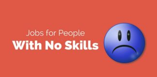 people with no skills jobs