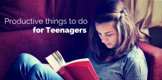 productive things for teenagers