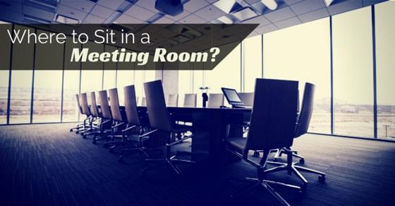 sit in meeting room