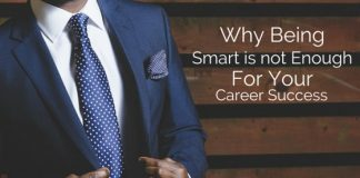 smart not enough for career success