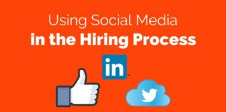 social media in hiring process
