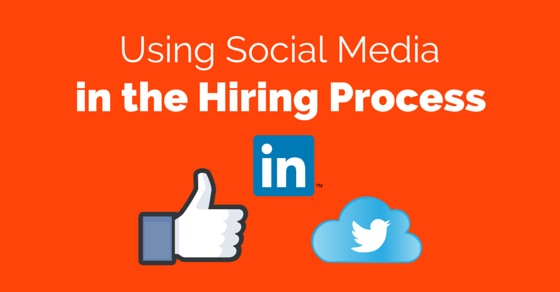 social media in hiring process