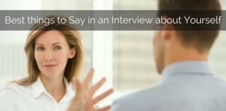 things to say in interview