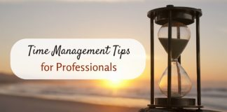 time management tips professionals