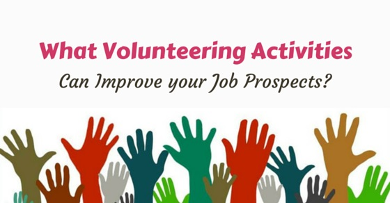 volunteering activities for job