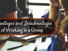 working in group advantages disadvantages