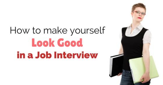look good in job interview