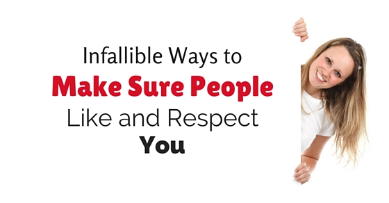 make people like you