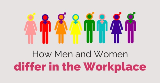 men women differ in workplace