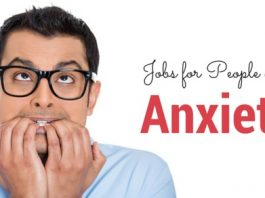 people with anxiety jobs