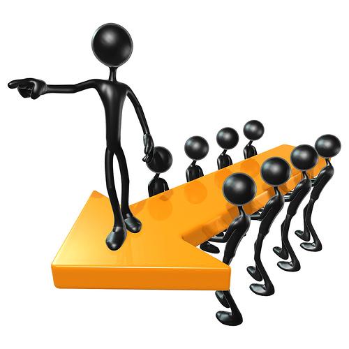 show leadership qualities