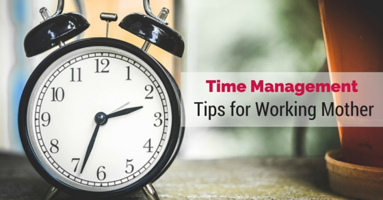 time management for working mother