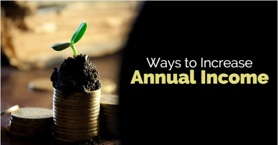 ways to increase annual income